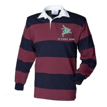 9 Para Squadron Embroidered Rugby Shirt